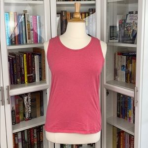 REI Heathered Red Sleeveless Top